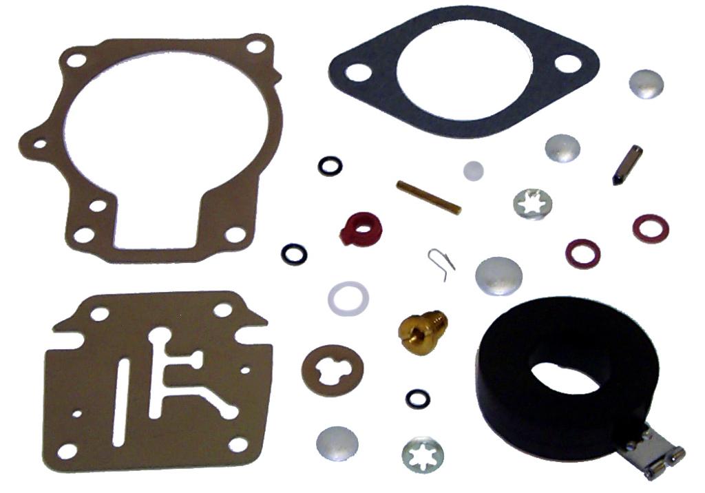 Sierra 18-7248 Marine Carburetor Kit Johnson//Evinrude 439079 437327 439078